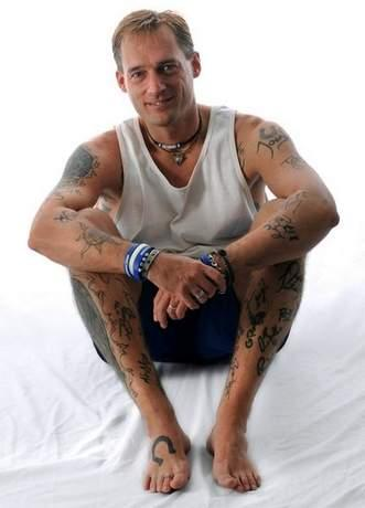 Matt Ellis and Tattoos