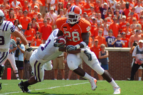 The Top Ten Clemson Football Players