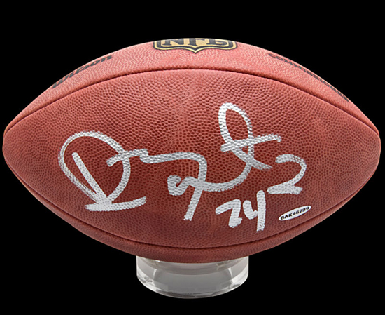 Ryan Mathews Autographed Football from UDA