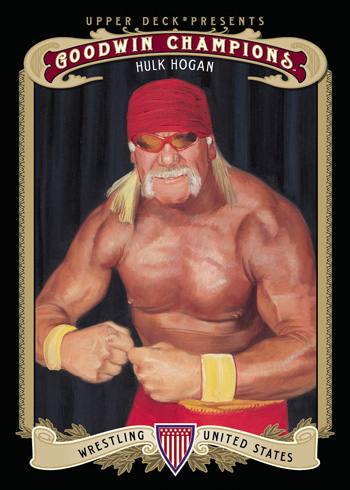 Hulk Hogan Wrestling Card