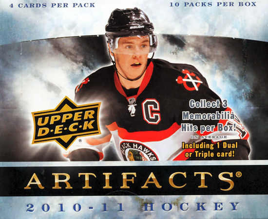 2010-11 NHL Artifacts