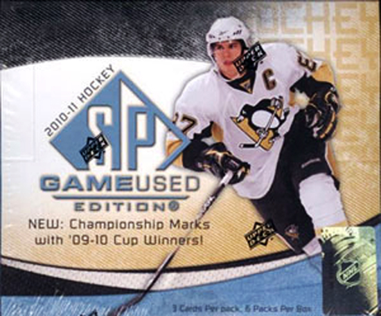 2010-11 NHL SP Game Used