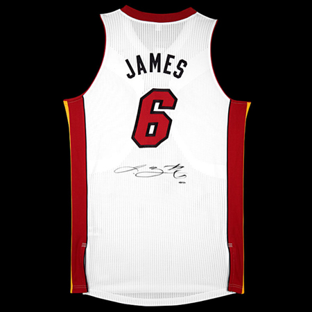 Miami Heat LeBron James Jersey