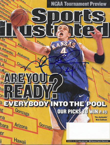 Sports Illustrated Signed Collison