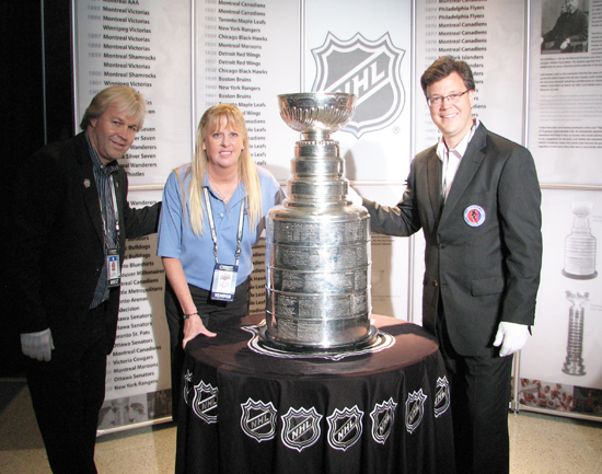 Phil Pritchard Craig Campbell Stanley Cup