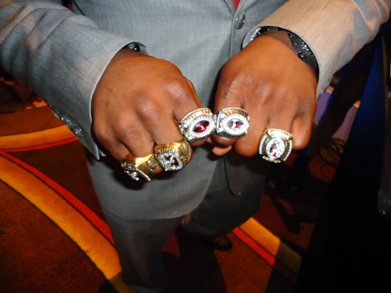 ESPN ESPY Awards Trent Richardson Rings