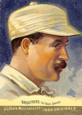 Goodwin Champions 1888 Original Art Cards