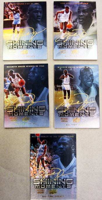 2012 Upper Deck All-Time Greats Michael Jordan Autographs