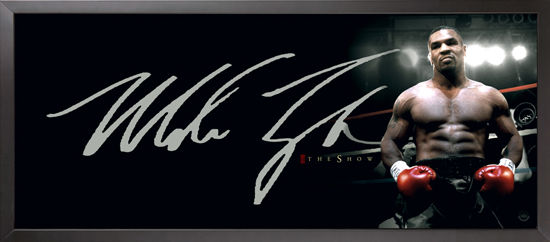 Upper Deck Authenticated Mike Tyson