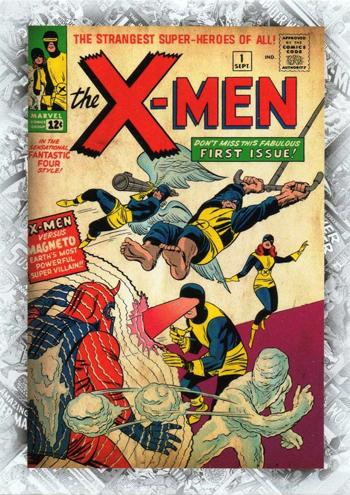 X-Men Marvel Card