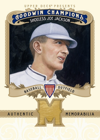 Goodwin Champions Joe Jackson Bat Card
