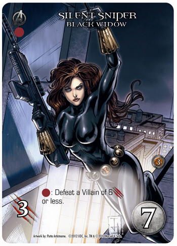 2012 Upper Deck Entertainment Marvel Legendary Black Widow