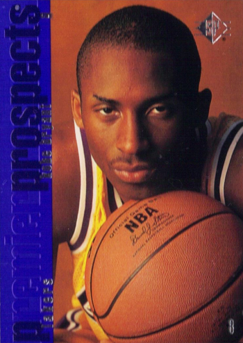 SP Authentic Kobe Bryant Rookie