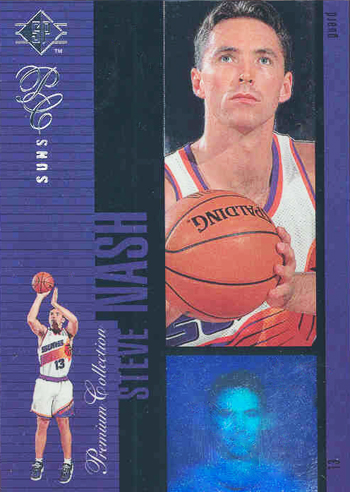 SP Authentic Steve Nash Holoview Rookie