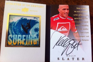 Kelly Slater All-Time Greats Booklet card