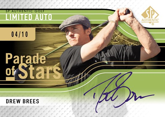 2012-SP-Authentic-Golf-Parade-of-Stars-Autograph-Drew-Brees