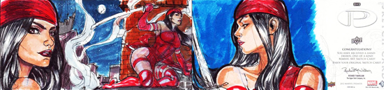 2012-Upper-Deck-Marvel-Premier-Multi-Panel-Sketch-Cards-Adriana-Melo-Elektra-Inside-Outside
