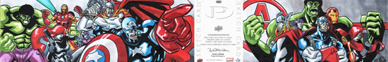 2012-Upper-Deck-Marvel-Premier-Multi-Panel-Sketch-Cards-Harold-Edge-Avengers-Inside-Outside