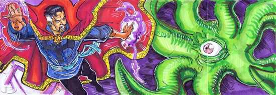 2012-Upper-Deck-Marvel-Premier-Multi-Panel-Sketch-Cards-Kevin-Sharpe-Dr-Strange-Inside