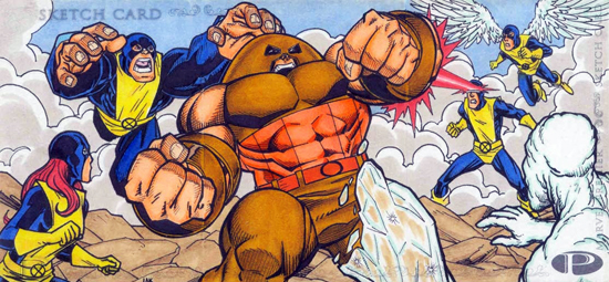 2012-Upper-Deck-Marvel-Premier-Multi-Panel-Sketch-Cards-Lak-Lim-X-Men-Inside
