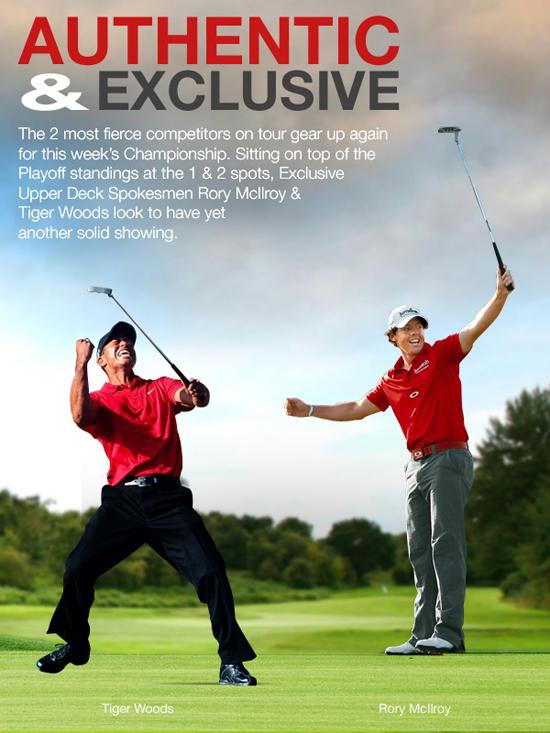 Tiger Woods & Rory McIlroy UDA Spokesmen