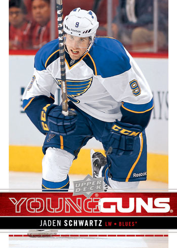 2012-13-NHL-Upper-Deck-Series-One-Young-Guns-Rookie-Jaden-Schwartz