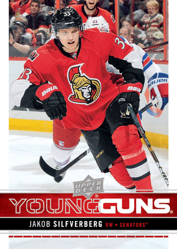 2012-13-NHL-Upper-Deck-Series-One-Young-Guns-Rookie-Jakob-Silfverberg