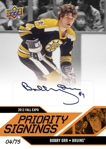 2012-NHL-Fall-Expo-Priority-Signings-Autograph-Bobby-Orr
