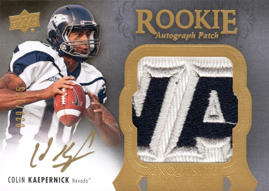 2011-Upper-Deck-Exquisite-Football-Colin-Kaepernick