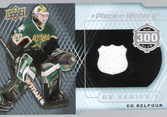 2012-13-NHL-Upper-Deck-Series-One-300-Win-Club-Ed-Belfour