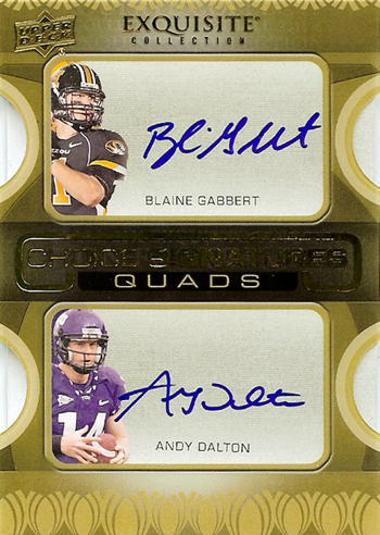 2011-Exquisite-Collection-Football-Choice-Signatures-Quad-Blaine-Gabbert-Andy-Dalton