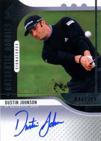 2012-Collectors-Choice-Awards-Autograph-Card-Year-SP-Authentic-Golf-Dustin-Johnson