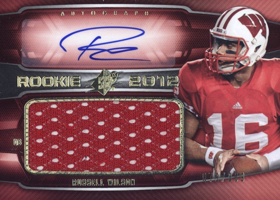 2012-Collectors-Choice-Awards-Autograph-Card-Year-SPx-Russell-Wilson-Autograph-Jersey
