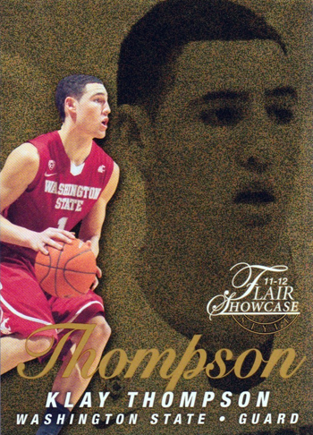 2012-Collectors-Choice-Awards-Unsigned-Rookie-Card-Fleer-Retro-Showcase-Klay-Thompson