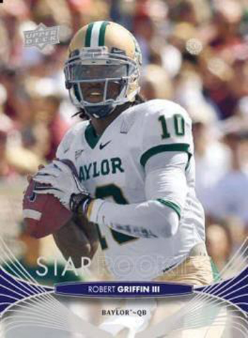 2012-Collectors-Choice-Awards-Unsigned-Rookie-Card-Year-Upper-Deck-Star-Rookie-Robert-Griffin-III