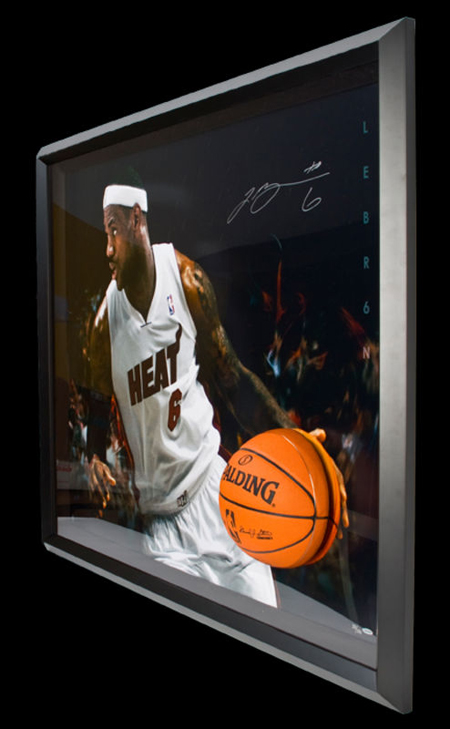 Gift-Guide-LeBron-James-UDA-Autograph-Signed-Miami-Heat-Breaking-Through