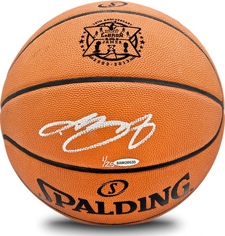 LeBron-James-Miami-Heat-Gift-Guide-Dad-Grad-Holiday-Best-Basketball-10th-Anniversary-Autograph