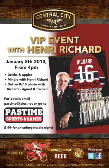 Upper-Deck-Featured-Retailer-Pastime-Sports-Games-British-Columbia-Henri-Richard-Event