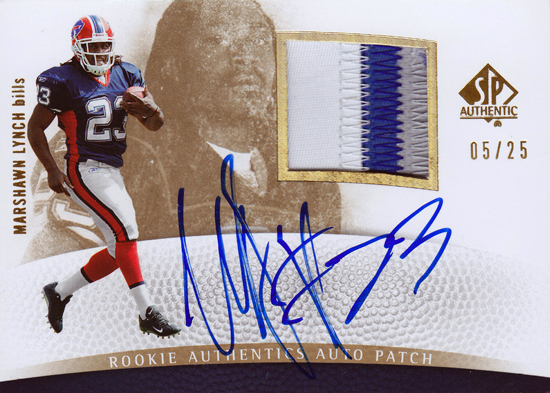 2007-SP-Authentic-Football-Rookie-Autograph-Patch-Marshawn-Lynch