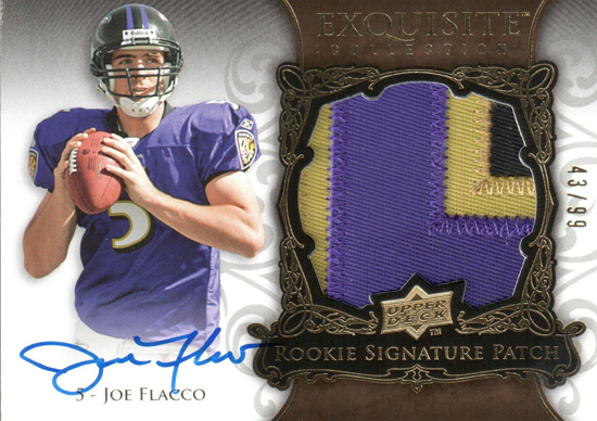 2008-Upper-Deck-Exquisite-Autograph-Patch-Joe-Flacco