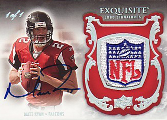 2008-Upper-Deck-Exquisite-Rookie-One-of-One-Matt-Ryan-Autograph-logo