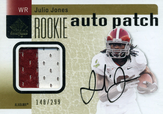 2011-SP-Authentic-Rookie-Autograph-Patch-Julio-Jones