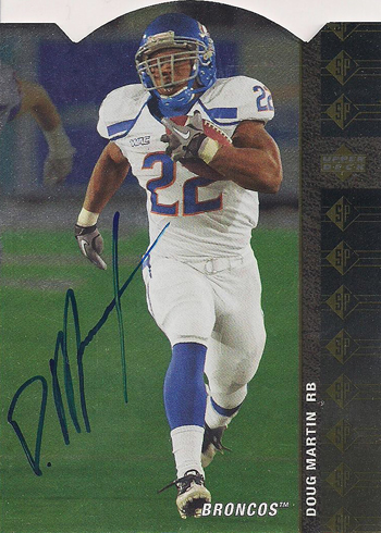 2012-SP-Authentic-Football-Short-Print-List-94-Die-Cut-Autograph-Doug-Martin