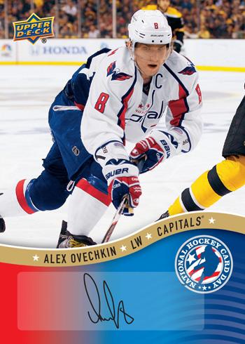 2013-National-Hockey-Card-Day-USA-Autograph-Alex-Ovechkin