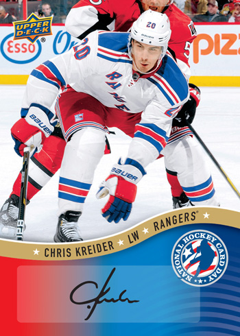 2013-National-Hockey-Card-Day-USA-Autograph-Chris-Kreider