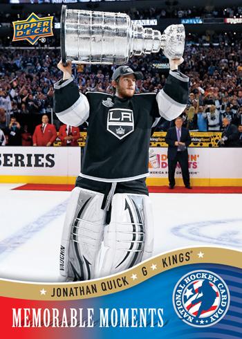 2013-National-Hockey-Card-Day-USA-Memorable-Moments-Jonathan-Quick