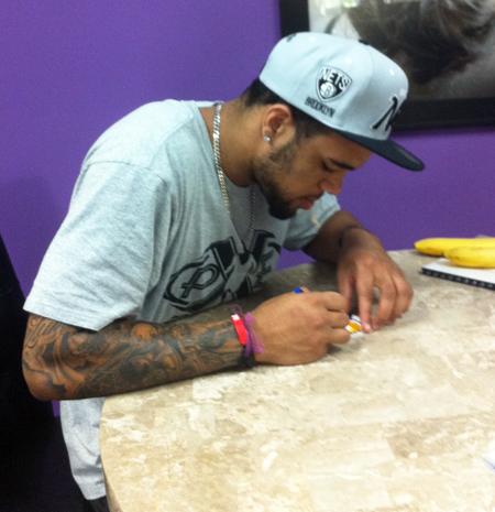2013-Upper-Deck-Football-Autograph-Signing-Keenan-Allen