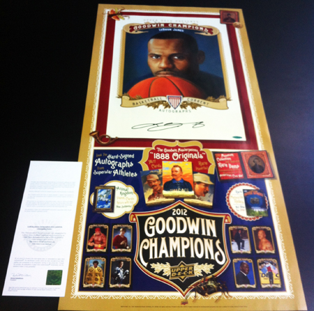 Expired-Redemption-Raffle-LeBron-James-Goodwin-Champions-Autographed-Poster-UDA
