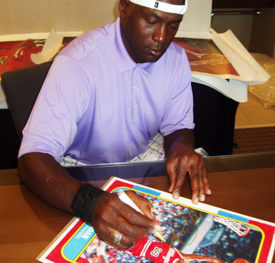 Brag Photo Upper Deck Has a Dream Team Wish Michael Jordan a – Michael Jordan Birthday Card