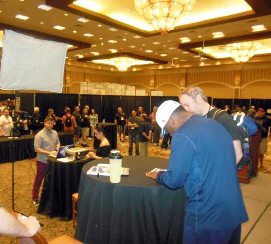 2013-Las-Vegas-Industry-Summit-Upper-Deck-Notre-Dame-Rocket-Ismail